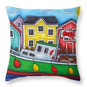 Maritime Special Throw Pillow