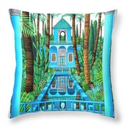 Marjorelle Reflections Throw Pillow