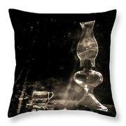 Marjorie Kinnan Rawlings Kerosene  Lamp Throw Pillow