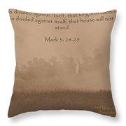 Mark 3 24-25 Throw Pillow