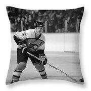 Mark Howe Throw Pillow