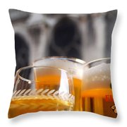 Mark The Hours Throw Pillow