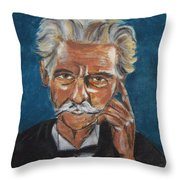 Albert Schweitzer Throw Pillow