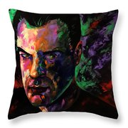 Mark Webster Artist Throw Pillow