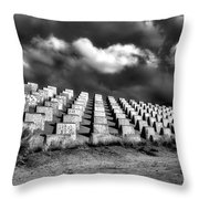Markers Throw Pillow