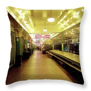 Market Day Is Done Throw Pillow