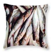 Market Fish Throw Pillow