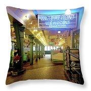 Market Hall Throw Pillow