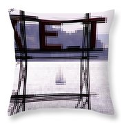 Market Sail Throw Pillow