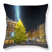 Market Square 025 Throw Pillow
