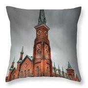 Market Square Presbyterian Throw Pillow