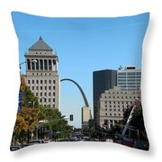 Market Street Throw Pillow
