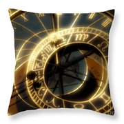 Marking Time Throw Pillow