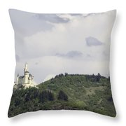 Marksburg Castle 26  Throw Pillow