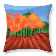 Marlborough Fall Throw Pillow