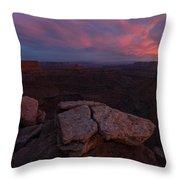 Marlobro Point Panorama Throw Pillow