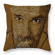 Marlon 01 Throw Pillow