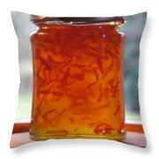 Marmalade Throw Pillow
