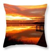 Marmalade Skies Throw Pillow