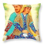 Marriage Custom Throw Pillow