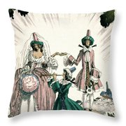 Marriage Of Candide Throw Pillow