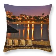 Marriott Lagoon Throw Pillow