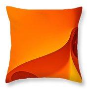 Mars Illuminations Throw Pillow