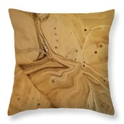 Mars In A Different Light Throw Pillow