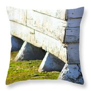 Marsh Berea Church 1 Throw Pillow