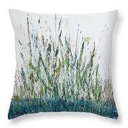 Marsh Life II Throw Pillow