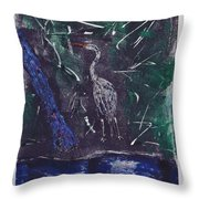 Marsh Magic Throw Pillow