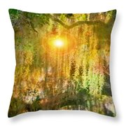 Willow Weep For Me Throw Pillow