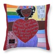 Marsha P Johnson Throw Pillow