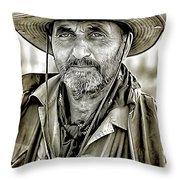 Marshal Pike Throw Pillow