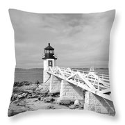 Marshal Point Light 1 Throw Pillow
