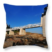 Marshall Point Light Throw Pillow