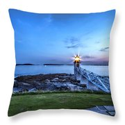 Marshall Point View Throw Pillow