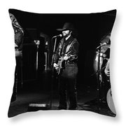 Marshall Tucker Band At Winterland 2 Throw Pillow