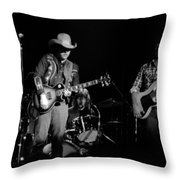 Marshall Tucker Winterland 1975 #10 Throw Pillow