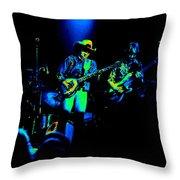 Marshall Tucker Winterland 1975 #12 Enhanced In Cosmicolors #2 Throw Pillow