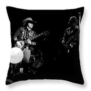 Marshall Tucker Winterland 1975 #16 Throw Pillow