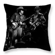 Marshall Tucker Winterland 1975 #17 Throw Pillow