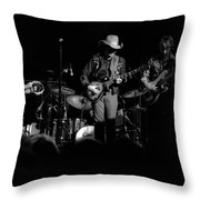 Marshall Tucker Winterland 1975 #21 Throw Pillow
