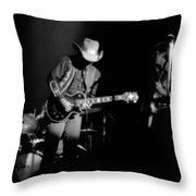 Marshall Tucker Winterland 1975 #23 Throw Pillow