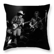 Marshall Tucker Winterland 1975 #3 Crop 2 Throw Pillow