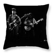 Marshall Tucker Winterland 1975 #33 Throw Pillow