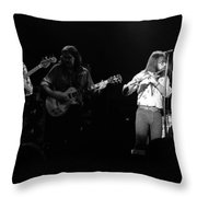 Marshall Tucker Winterland 1975 #35 Throw Pillow