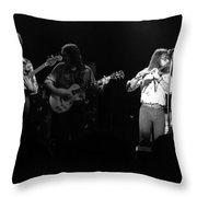 Marshall Tucker Winterland 1975 #37 Throw Pillow
