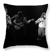Marshall Tucker Winterland 1975 #37 Crop 2 Throw Pillow