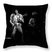Marshall Tucker Winterland 1975 #38 With Elvin Throw Pillow